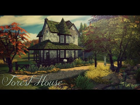 The Sims 4 | Forest House Speed Build