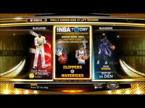 NBA 2k13 - Easiest Ways To Earn VC