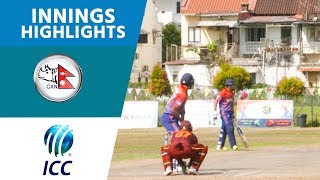 Qatar v Nepal - Nepal Innings Highlights | ICC T20 World Cup Asia Qualifiers | ICC