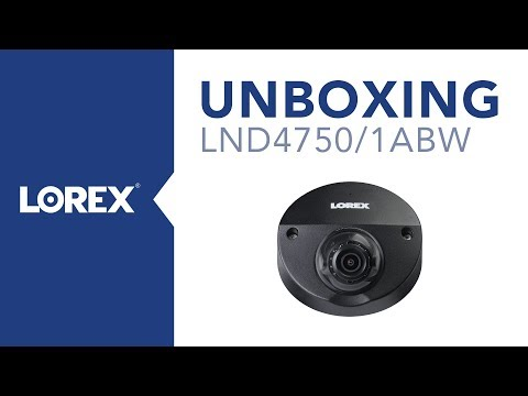 Unboxing the LND4750AB Nocturnal Security Audio Camera