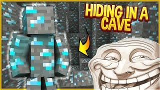 Minecraft Trolling: I AM DIAMOND ORE TROLL (Minecraft Pranks EP125)