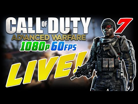 MAP GLITCHERS! Advanced Warfare in 1080p 60fps LIVE #7