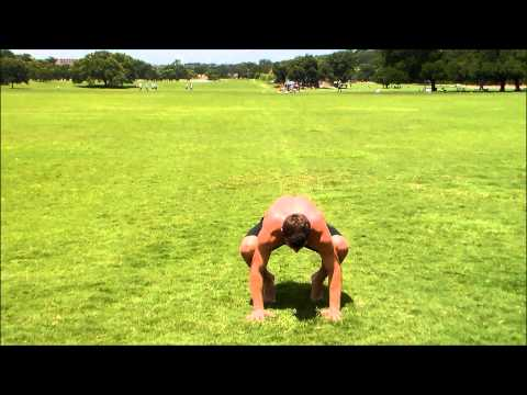 Crow Pose to Handstand