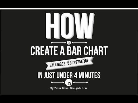 How to create a simple bar graph with Illustrator