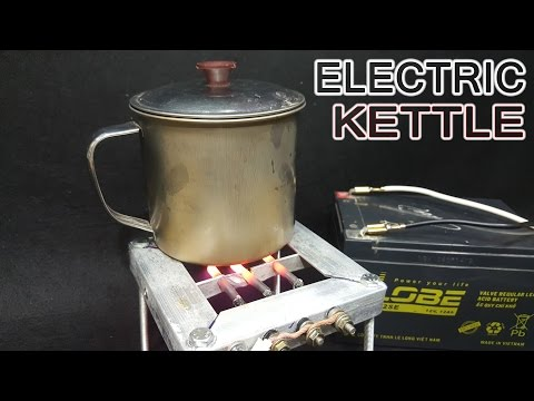 How To Make A 12volt Electric Kettle