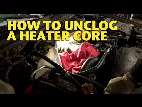 How To Unclog a Heater Core - EricTheCarGuy