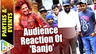 Riteish Deshmukh Witnesses Audience Reaction Of