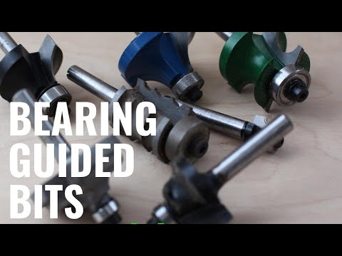 Router tips and tricks: Profile edge mouldings with bearing guided router bits. Router 101 Ep.3