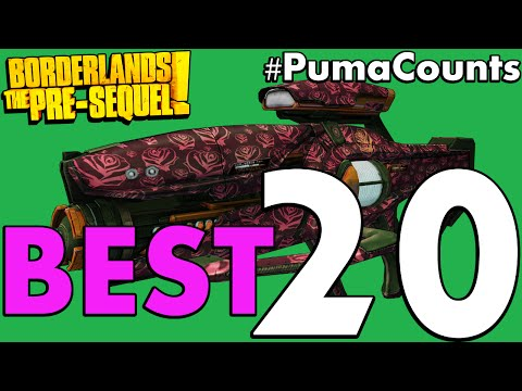 Top 20 Best Guns and Weapons in Borderlands: The Pre-Sequel
