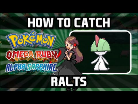 Pokemon Omega Ruby / Alpha Sapphire - How To Catch: Ralts [Walking]