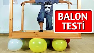 Download Balon Kaç Kiloya Kadar Taşır? - Test Ettik Video