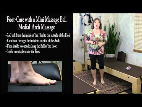 Do-It-Yourself Foot Pain Relief for Sore, Tired, Achy Feet with a Mini-Massage Ball