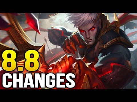 Big changes coming soon in Patch 8.8 (League of Legends)