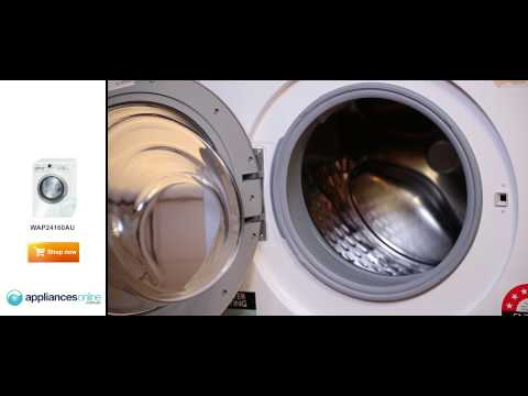 Expert reviews the extremely quiet Bosch WAP24160AU front load washing machine - Appliances Online
