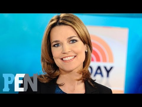 Today: Why Savannah Guthrie Was Very Superstitious About Her Pregnancy   PEN   Entertainment Weekly