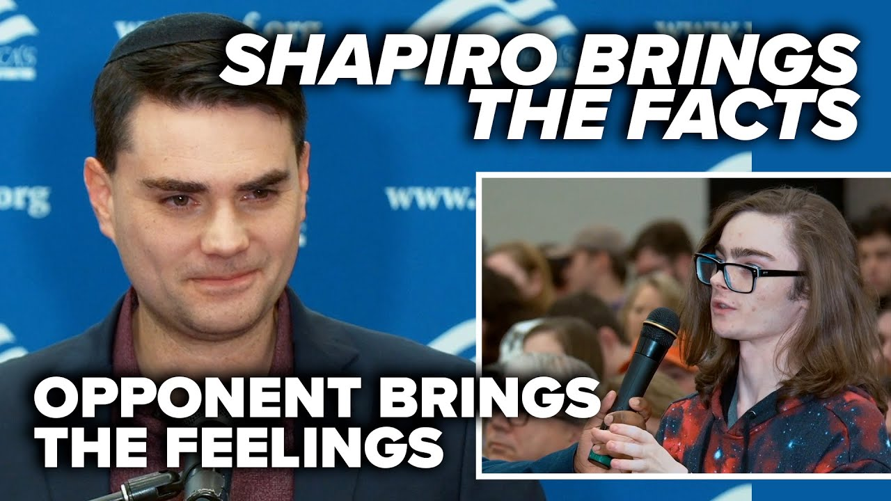 SQUABBLE OVER SCIENCE: Shapiro brings the facts, opponent brings the feelings