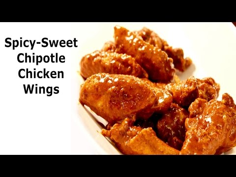 Spicy-Sweet Chipotle Wings