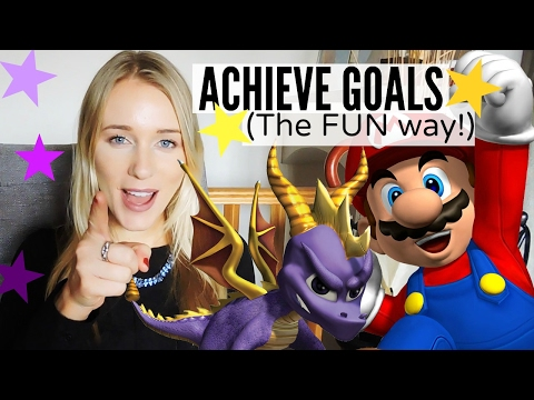 HOW TO GAMIFY YOUR LIFE TO ACHIEVE YOUR GOALS
