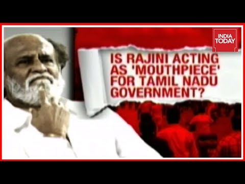 Is Thalaiva Rajini A Mouthpiece Of The Tamil Nadu Government? Or The Leader Of The Common Man?
