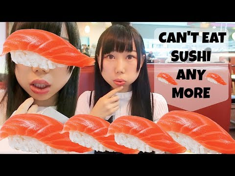 Can't Eat Sushi Anymore! Having Terrible Allergy! Face, Lip Hurt&Swell! Hard to Chew&Talk