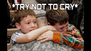 MOST EMOTIONAL SOLDIER RETURN HOME #1