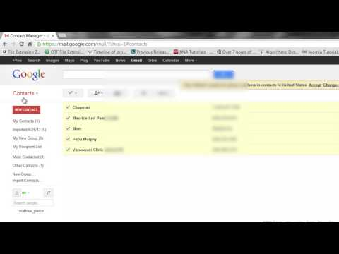How to Synchronize Two Gmail Accounts : Tech Vice