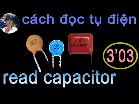 how to read the capacitor value
