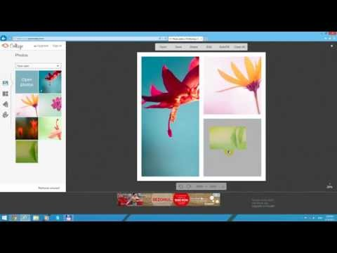 Make a picture Collage for free (PicMonkey.com)