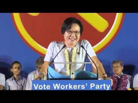 General Elections 2015 - 02.09.2015 - Sylvia Lim
