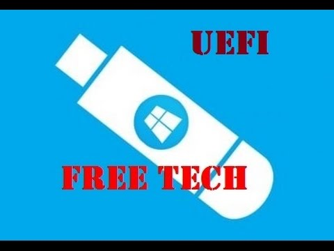 How to Create Official Windows 10 Bootable UEFI USB Flash Drive With Command Prompt
