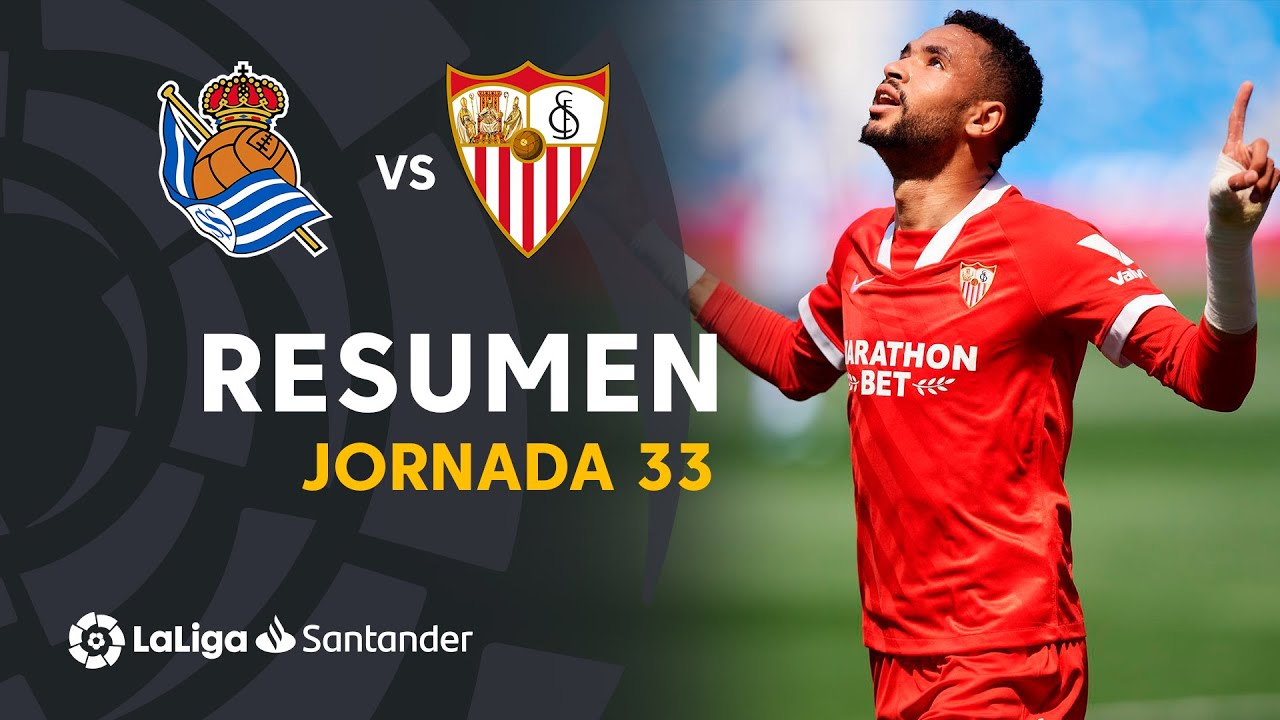 Resumen de Real Sociedad vs Sevilla FC (1-2)