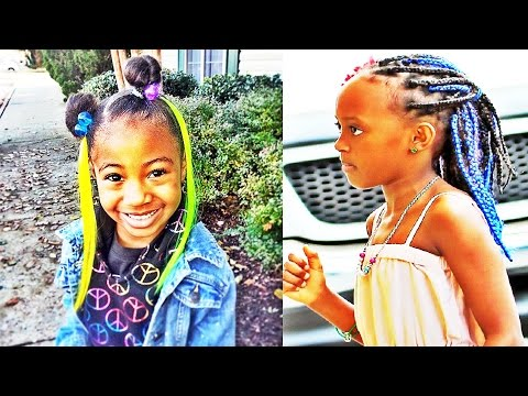 Best Natural Hairstyles for Black American African Kids