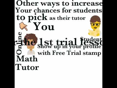 How to make money tutoring math