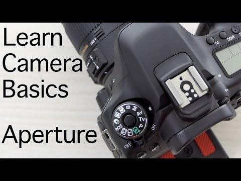 Learn Camera Basics - Understanding Aperture Mode