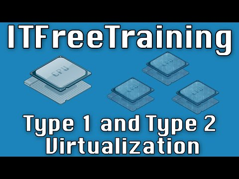 Type 1 and Type 2 Virtualization