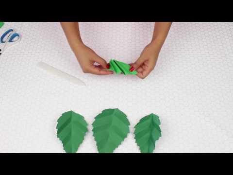 Simple Handcut Leaf