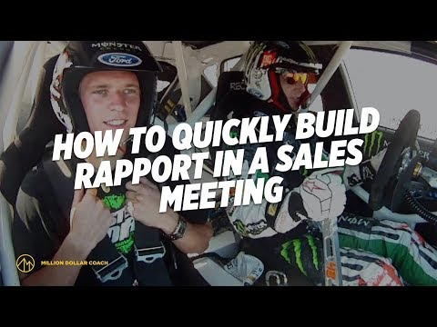How to Quickly Build Rapport in a Sales Meeting