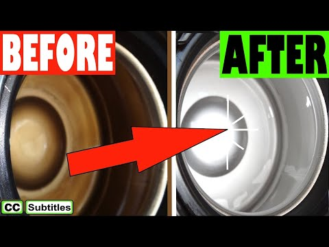 How to clean a Thermos Flask inside the Easy Way