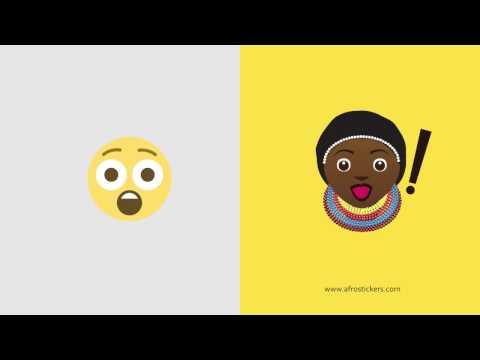 African Emoji - Afro Stickers