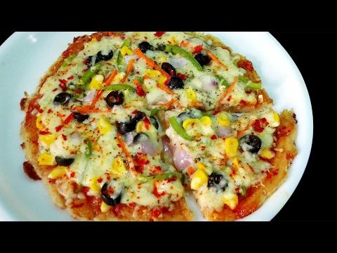 Potato Pizza || Aloo Pizza || Potato base Pizza