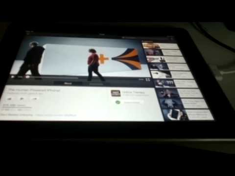 How to make youtube work on ipad 1 gen.