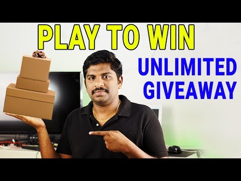 Play To Win - Unlimited Free giveaway in Tamil -Loud Oli Tech