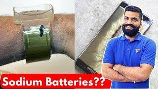 Sodium Batteries - Blast Proof? Future Batteries?