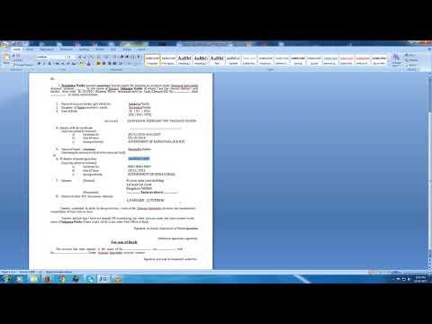 how to fill Sukanya Samriddhi Account /Yojana application form with sample filled form