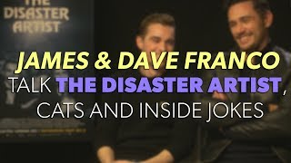 JAMES FRANCO & DAVE FRANCO Talk The Disaster Artist, Inside Jokes & Cats! | Interview | The Hook