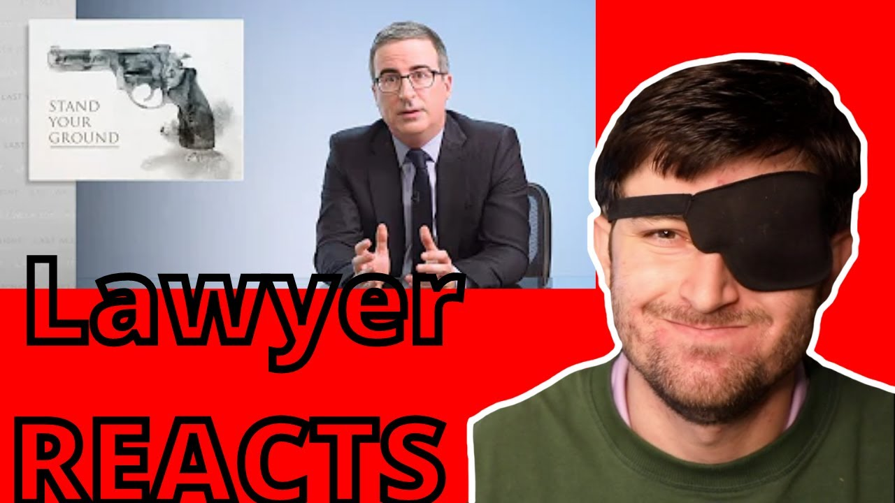 """Lawyer Reacts to """"Stand Your Ground: John Oliver"""""""