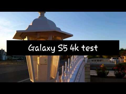 Galaxy S5 4k video test