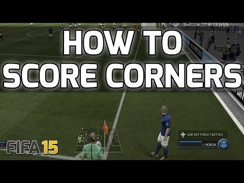 FIFA 15 - HOW TO SCORE CORNERS - Fifa 15 Corner Scoring Tutorial/Technique - Fifa 15 Tips & Tricks