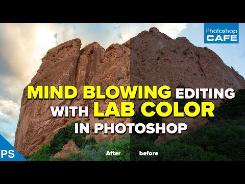 MIND BLOWING photo editing with LAB in PHOTOSHOP   Photoshop on steroids!