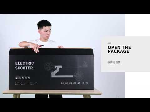Unboxing Trotineta Electrica Kugoo M2 PRO
